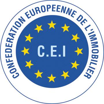 Logo C.E.I. - Conferderation Europeenne de l'Immobilier